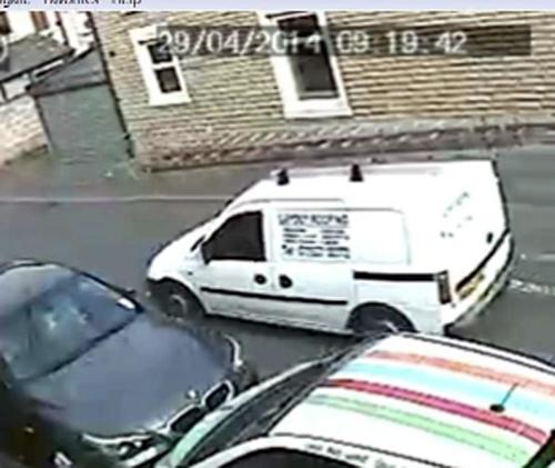 The van police want to trace