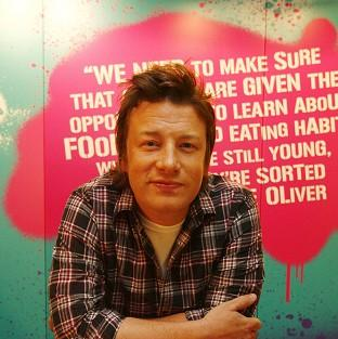 Jamie Oliver is aiming to cut childhood obesity.