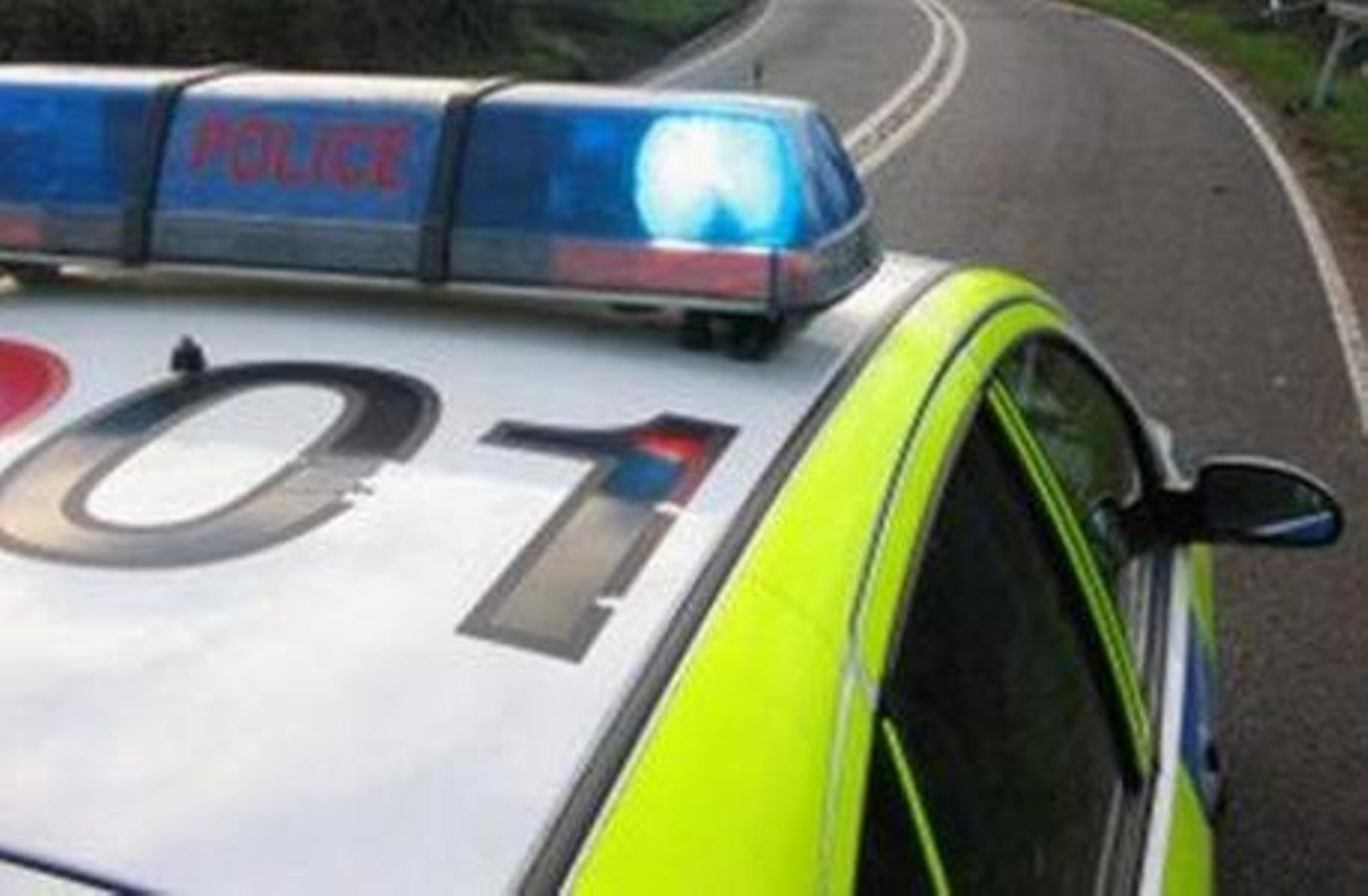 Debris in road after M65 crash