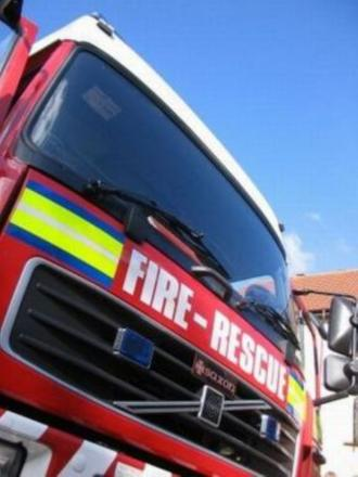 Fire crews tackling Blackburn vehicle blaze