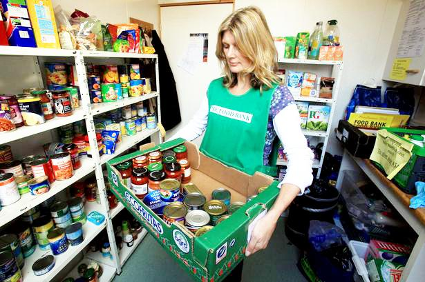 Lancashire Telegraph: County's foodbanks to benefit