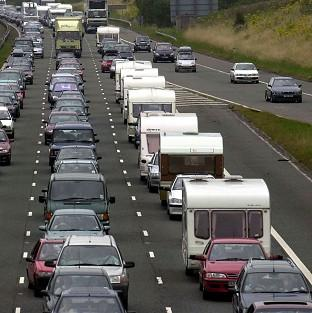The Highways Agency has suspended some roadworks for the bank holiday, but works remain on some key routes