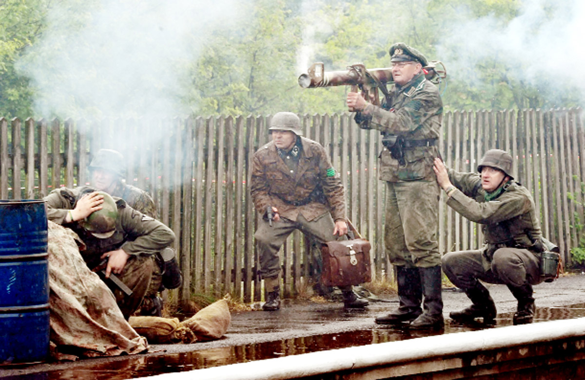 'Oh what a lovely war': Popular Ramsbottom war re-enactment success