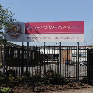 Park View School, which is being investigated after allegations of a hardline Islamist takeover plot at Birmingham schools
