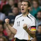 Lancashire Telegraph: BRAZIL BOUND: Miroslav Klose has been confirmed in Germany's World Cup squad