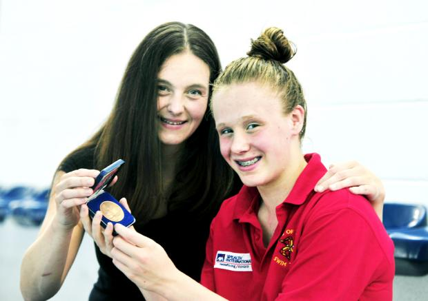 Swimming: Mother and daughter show they've got plenty in Common