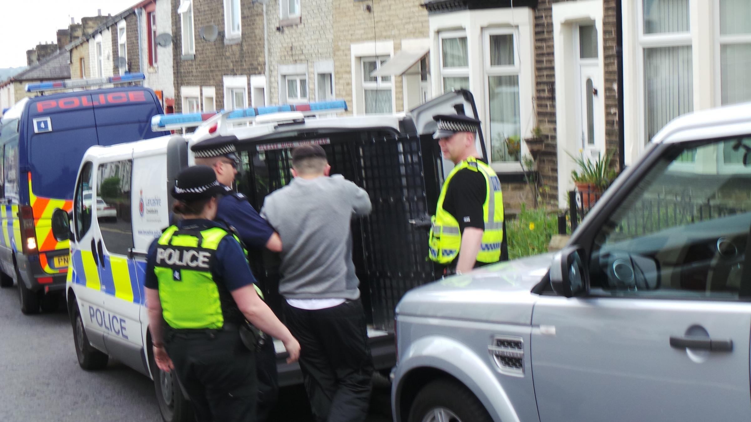 Seven arrested in early morning East Lancs drugs raids