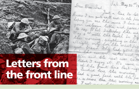 Lancashire Telegraph: Letters From The Front Line