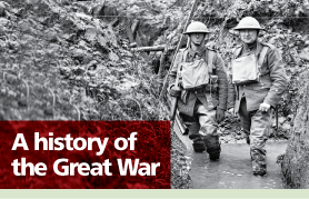 Lancashire Telegraph: A history of the Great War