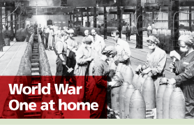 Lancashire Telegraph: WW1 At Home