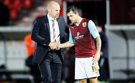 Lancashire Telegraph: Wanted men – Clarets boss Sean Dyche and striker Danny Ings