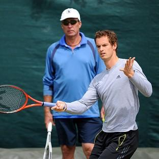 Andy Murray, right, hopes to name the successor to former coach Ivan Lendl, left, before Wimbledon