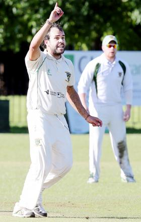 Euxton's Preston White starred with bat and ball in the only game to survive