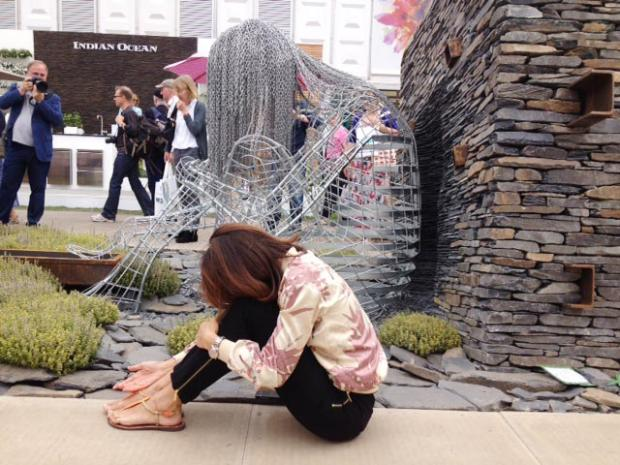 RHS Chelsea flower Show sculpture to take pride of place in Blackburn