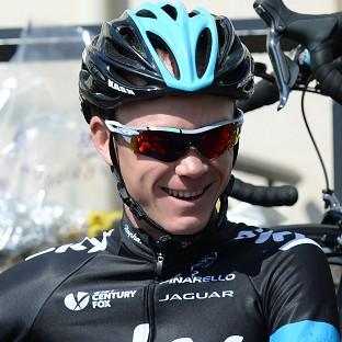 Team Sky's Chris Froome remains in charge