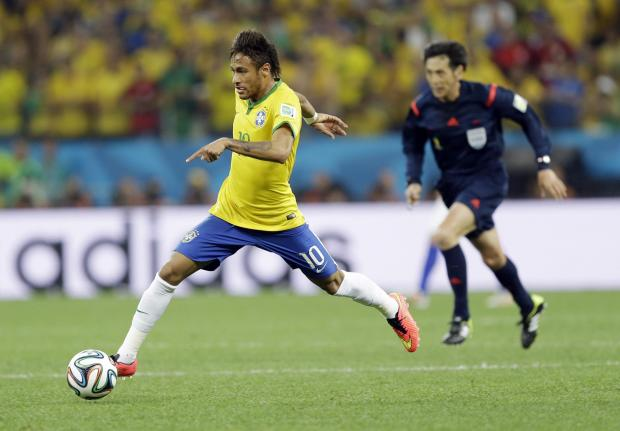 Neymar in full flow