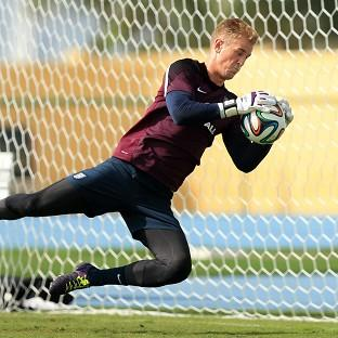 Joe Hart knows he has to play well to make sure he keeps hold of his place for England