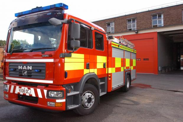 Electrical unit causes Burnley fire
