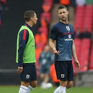 Gary Cahill, right, and Phil Jagielka have forged a solid partnership