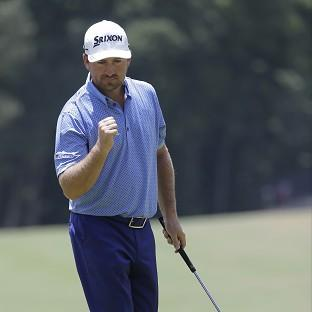 Graeme McDowell showed low scores were possible on the final day (AP)
