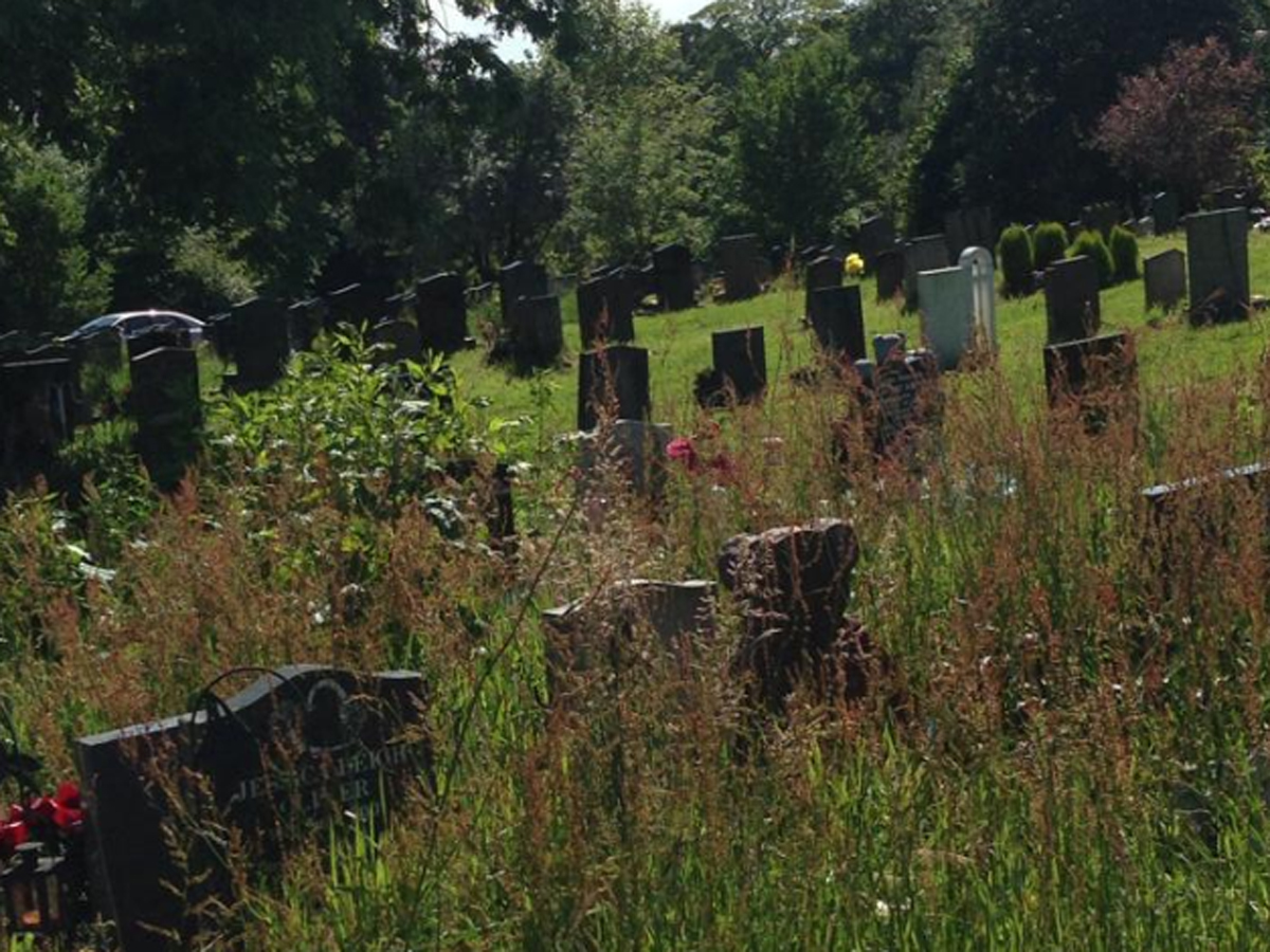 Mum devastated about overgrown graves in Blackburn