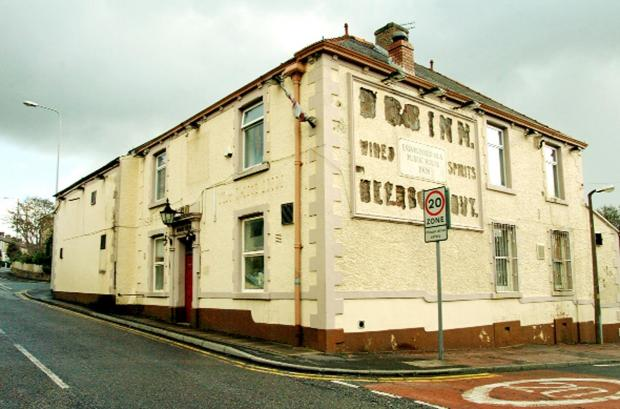 The former Dog Inn, Revidge