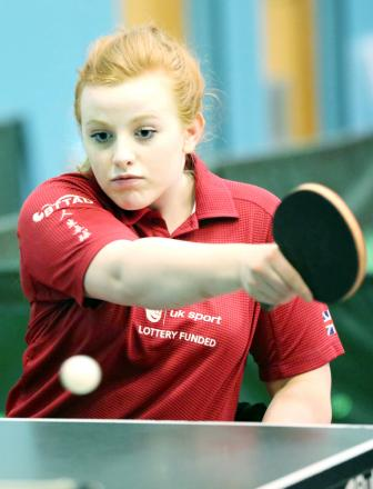 Megan Shackleton, 15, won a bronze medal in Romania