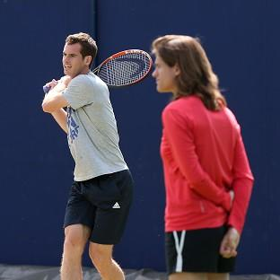 Andy Murray, left, has a new coach for the grass-court season