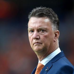 Holland manager Louis van Gaal, pictured, was pleased as his side won with a different style