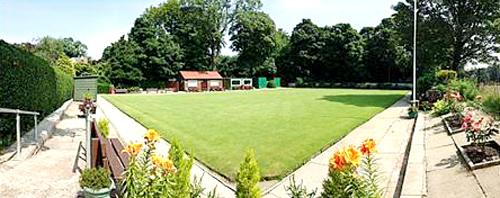 The picturesque All Saints Bowling Club in Clayton-le-Moors