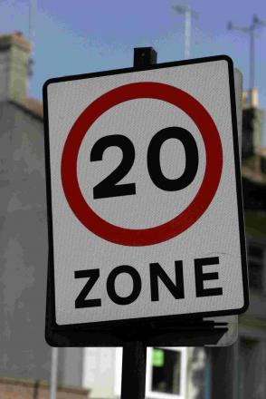 20mph speed zones to be scrapped