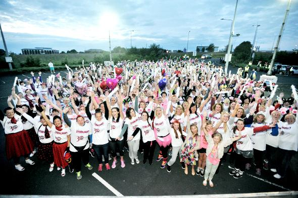 Hundreds take part in Starlight Walk for East Lancashire Hospice