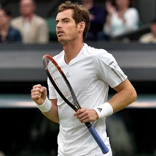 Andy Murray, pictured, defeated Kevin Anderson 6-4 6-3 7-6 (8/6)