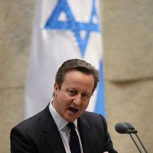 David Cameron condemned the deaths of three Israeli teenagers