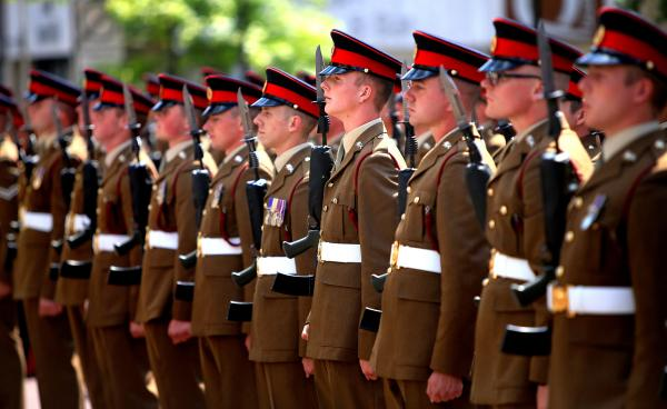 GALLERY: Regiment marches in memory of Accrington Pals