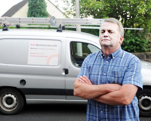 Neil Pope who has rebranded and relaunched his business after a former worker stole money
