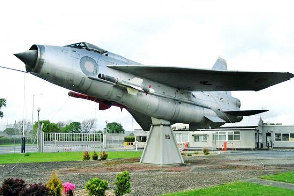 The English Lightning as it appeared in Samlesbury