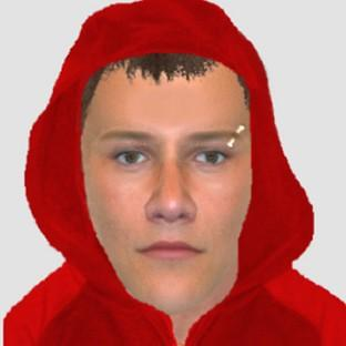 An e-fit image of an man police would like to speak to in relation to the murder of Saudi Arabian student Nahid Almanea (Essex Police/PA)