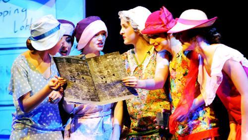Scene from Westholme's production of Thoroughly Modern Millie