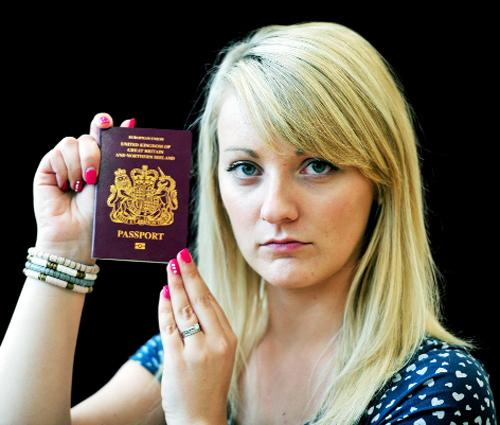 East Lancs newlywed's holiday in jeopardy after passport arrives with wrong photo