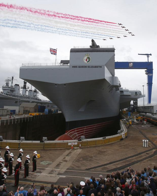 Lancashire Telegraph: BAE 'flight cockpit' helps to design aircraft carrier