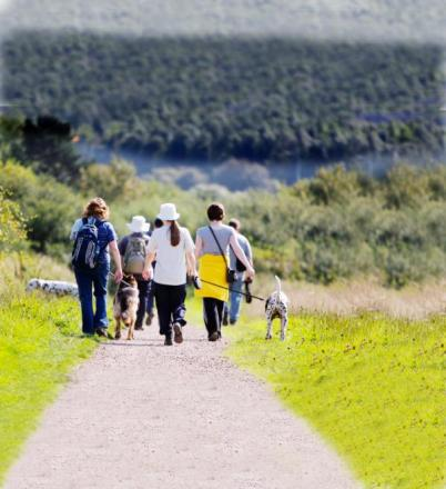 Walkers will come from miles around to explore the East Lancs countryside