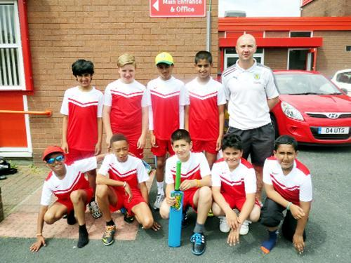 Casterton Primary School who will represent Lancashire in the Northern Cricket finals at Harrogate Cricket Club next Wednesday