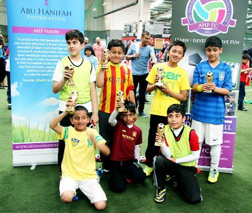 The AHF Football Club World Cup Festival which was held at Blackburn's Soccerdome