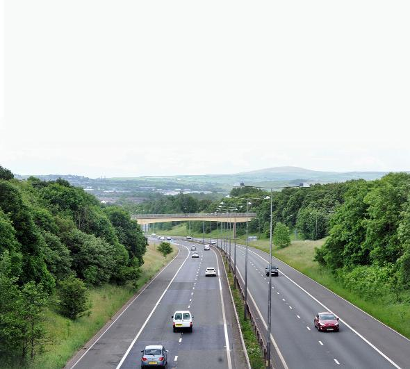 Traffic chaos expected on M65