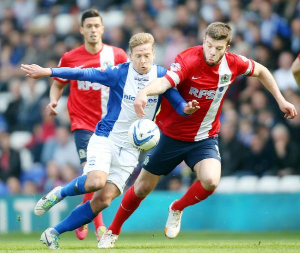 Lancashire Telegraph: Grant Hanley is one of only four senior defenders on Rovers books
