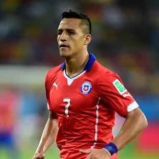 Chile forward Alexis Sanchez has completed the formalitie