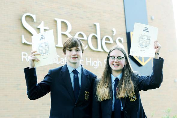 Lancashire Telegraph: Michael Jacques and Jessica Henderson's IQ scores are higher than Bill Gates and Albert Einstein