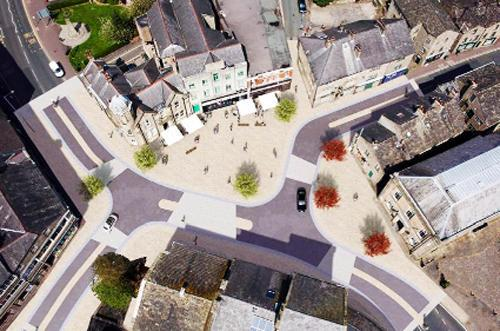 Lancashire Telegraph: The planned new-look town centre