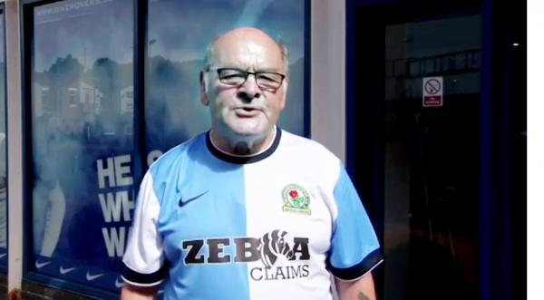 Blackburn Rovers' kit launch video featuring well-known fan Alan 'Birdy' Birkbeck has divided opinion